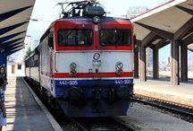 vlaky - bývalá Jugoslávie