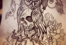 Owl tats and other stuff