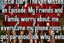 "Messages from ""a"" PLL / by olivia crane"