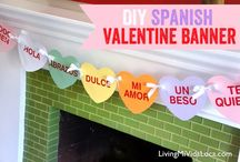 San Valentín / Spanish lesson plan ideas about Valentine's Day. Yea, we know it's mostly an American holiday, but it connects with our students for the moment, so why not?! / by Creative Language Class