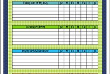 Chore Charts / by Beth Tindall