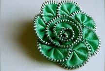 zipper Flowers!