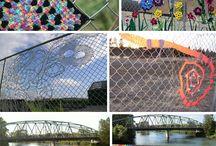 Fence Decor / Decoration on fences