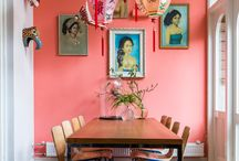 Eclectic interiors / Colorfull eclectic interiors