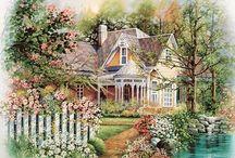 maisemat, puutarhat