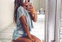 Stylowe selfie / #selfie #mirror #fashion #style