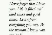 Quote for my daughter