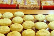 Christmas baking / Baking for Christmas exchange