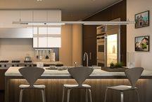 Cocinas con estilo / Para muchos la cocina es uno de los espacios favoritos de la casa, ya que siempre suele ser el centro de las reuniones familiares mientras se preparan ricos platos o durante las comidas.  Los Expertos del Color te ofrecen una serie de consejos básicos para que decorar este espacio sea pan comido.