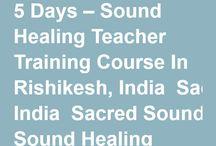 Sound Healing Teacher Training India / Sound Healing Teacher Training Course In Rishikesh, Goa India http://www.satyamshivamsundaram.net/schedule-fee.html For More Information – Samaveda – International Academy Of Sacred Sound Healing www.samaveda.net