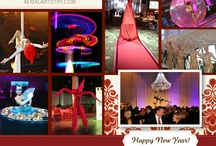 Event Entertainment, Events Planning / Welcome 2013! HAPPY NEW YEAR from Aerial Artistry Event Entertainment #EventsPlanning