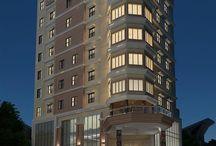 3d render hotel @makassar