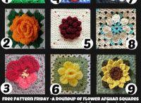 Crochet flowers / Crochet
