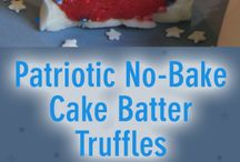Red, White & Blue Recipes / Patriotic recipes great year-round but perfect for 4th of July and Memorial Day weekend!