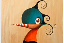 *BirdMan* / *BirdMan* Dimensions: 50x70 cm Media: acrylic on canvas RESERVED