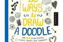 20 Ways to Draw a Doodle Book! / My first ever book is now available! Share your doodle adventures with us! Please use the hashtag #20waysdoodle, we would love to promote your fun creations! / by Rachael Taylor Studio