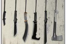 Blades of Glory / Any Tools that are Sharp for Killing Zombies / by Zombie Killer Elite Task Force