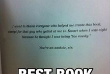 Book dedications