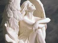 ANGELS,Statuary, Cherubs, Fairies (2) / Angels, Statuary, Cherubs, Fairies etc. / by Maria Hurcomb