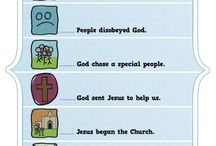 God's Unfolding Story Bible Activities / Kids need to learn the biblical story. To help them do that, we have summarized the entire story into six simple and easy-to-remember story elements with corresponding visual icons. These Bible activities for children will help kids learn the biblical story (what we call God's Unfolding Story) in a way they can retain for life. These story elements correspond to the God's Unfolding Story for Older Preschoolers curriculum.