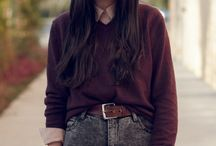 trend: high waisted pants / by Corinna Whiteaker-Lewis