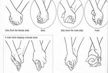 Hands & Arms / Collection of arm and hand position bases