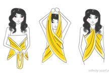 way of wear scarves