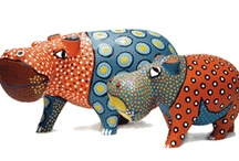 African Creative Painted Wood and Tin Animals / A delightful collection of quirky African animals sold through African Creative.