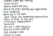 //things i like