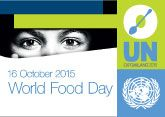 World Food Day - Oct.16 / Friday, October 16, is World Food Day! Use these visuals to promote the movement. This website has more information: http://www.fao.org/world-food-day/home/en/