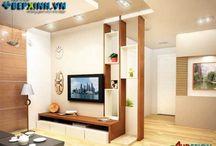 Thiết kế phòng khách / Thiết kế phòng khách sang trọng, tinh tế. Luôn cập nhật các các phong cách phòng khách đep nhất và ấn tượng nhất.