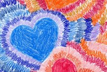 Getting crafty with kids / kid friendly art projects / by ♔ Norma Pederson ♔