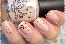 Point to Point nail art