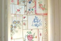 Vintage and creative Window dressings