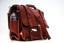 """Vintage  Leather Men's Messenger  Briefcase Backpack Shoulder Bag Large Laptop / Feature1.Top grade cowhide leather 2.Classic vintage style. 3.Smooth and durable metal zipper 4.High grade alloy buckles. 5.The main pocket can hold a 15"""" laptop 6.It can be used as a briefcase,a shoulder bag or a backpack. 7.Taking this great bag,you will be attractive."""