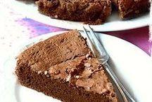 torta cioccolato e caffe
