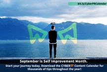 CYBER PR CONTENT CALENDAR / We have created a fabulous content Calendar filled with thousands of ideas to help you with your daily Social Media Marketing! Come and get it! http://bit.ly/CyberPRCalendar
