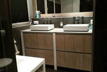 Badkamer / Naast keukens plaatsen wij ook #badkamers op maat.