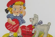 Vintage Valentines / Happy Valentine's Day! We've pulled this collection of vintage valentines from the Detre Library & Archives.