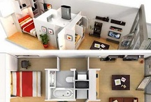 Small space, great design / Maximising storage in small spaces! Getting more out of  your small space. / by Brenda Casey