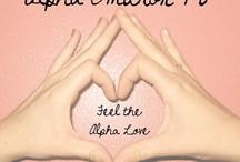 Alpha Love / by Erin Nanik