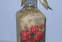 Crafts:Glass bottles