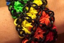 Loom bands!!! / It's all about loom bands !!!!!!!!!!