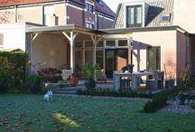 Veranda's / Ook de veranda mag niet ontbreken in uw tuin, de plek om lekker te relaxen bij aangename temperaturen. In samenwerking met een ervaren timmerman kunnen wij u droom veranda/schuur realiseren.