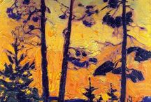 Artist Tom Thomson - Group of Seven