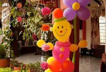 Decor for amyra's first birthday party