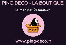 Ping, Le Manchot Décorateur