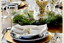 Holiday Entertaining / Pretty Tables