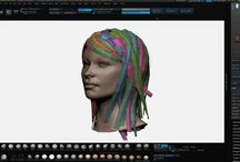 Designing / Maya z brush marvelous design blender