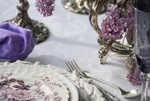 Home Ideas - Dining Room / Great ideas on Dining Room Décor, Dining Room Organization, Table Settings, Centerpieces and more...